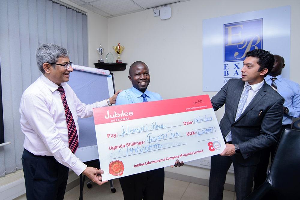 jubilee insurance awarding